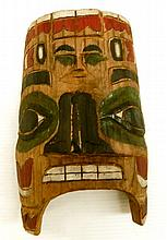 A Hawk Mask, Nookta Culture, British Columbia, Canada