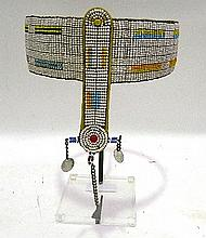 A Masai Bead Headpiece