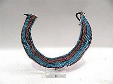 A Xhosa Bead Collar Necklace