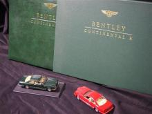 A copy of 'Bentley Continental R' by Ian Adcock published by Osprey in 1992.
