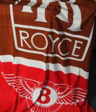 A very large Rolls-Royce/Bentley dealer's flag in mint condition