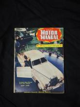 A copy of the July 1st 1955 issue of 'Fortnightly Motor Manual' featuring the Bentley R Type Continental at the Melbourne Motor Show...
