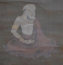 A Japanese Hanging Scroll by the 16th Century artist Kano Tanyu,