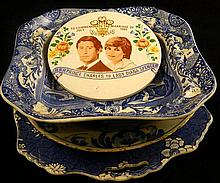 A collection of ceramics including Royal Winton, Spode and antique (AF)