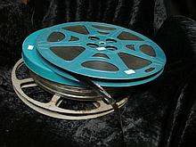 Three 16mm movie films
