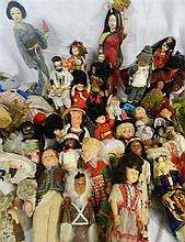 Extensive collection of dolls of the world from 1950s through to 1980s