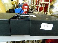 Estate residuall lot including antique style photo frame, screwpull bottle opener, cameras etc