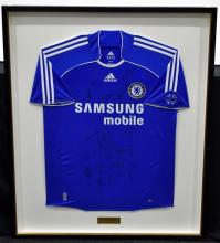 A 2007 Chelsea Football Club, FA Cup ChampionsSigned Jersey;