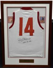 An Early South Melbourne Bob Skilton Signed Jersey