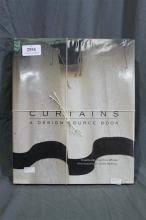 Three books on curtains and/or tassels in interior design and decoration