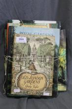 Five books on historic English gardens