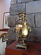 An early 20th century brass Russian Samovar 40cm