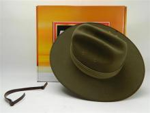 New in Box, Army Akubra Hat with Badge,