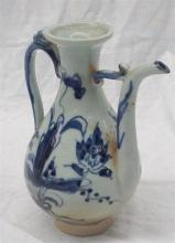 A Chinese Blue and White Jug, Ming Dynasty