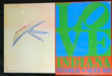 Folon, Amensty International Poster + Love Indiana Stable May 66 Poster (2)