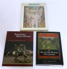 Two books on English Art together with a catalogue on Italian Renaissance Bronzes