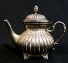 A Sterling Silver small teapot