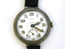 A Gentleman's Sterling Siver Mappin 'Campaign' Wrist Watch