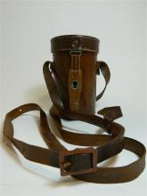 A Carl Zeiss monocular in original leather case