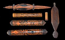 A Collection of Six Artefacts,