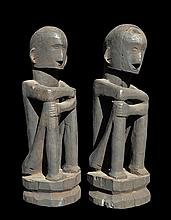 A Pair of Ifugao Bulul Figures,