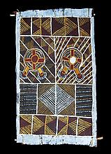 Bark Painting, Unknown Tiwi Artist,
