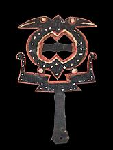 A Solomon Island Dance Wand, North Malaita Island,