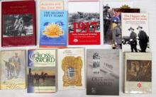 Twelve books pertaining to Australia and the great war