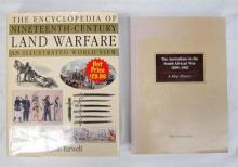 Two books pertaining to Land Warfare and The Australians in the south African War 1899-1902