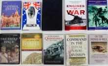 Ten books pertaining to The Imperial German Army, Engines of War and Military Discipline in the First World War