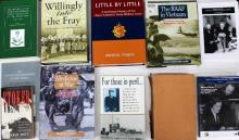 Eleven books pertaining to The RAAf in Vietnam and Medicine at War