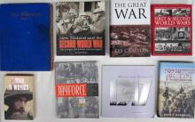 Eight books pertaining to The Great War, New Zealand and the Second World War, Forgotten Soldiers and more