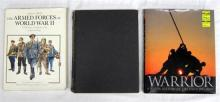 Three books pertaining to The Armed Forces of World War Two