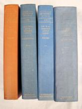 Four books pertaining to Air War Against Japan and others