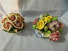 Old Royal bone china posy