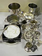 A collection of assorted EP ware