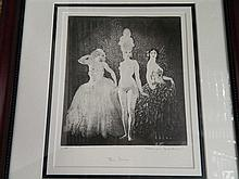 Norman Lindsay (1879-1969) After, Three Dresses