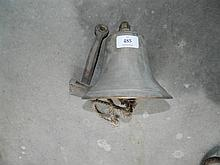 A brass ship's bell