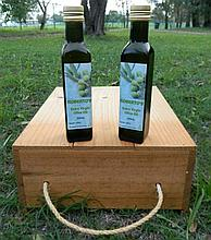 Judy and Bob's home produced olive oil will be available for sale on the day priced at $50 per carton of 12 x 250 ml bottles