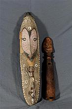 A Mwai Mask and Trumpet