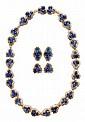 Fine Sapphire, Diamond Neckace,
