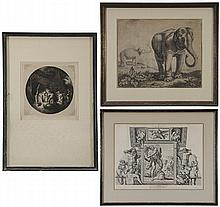 Three Old Master or Style Prints