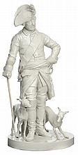 Porcelain Figure of Frederick the