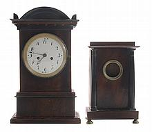 Fruitwood Shelf Clock, Empire Watch