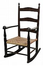 Shaker No. 0 Child's Rocking Chair