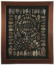 Framed Collection of Native American