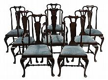 Set of Eight Queen Anne Style