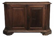 Italian Baroque Walnut Cabinet