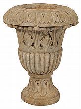 Roman Carved Stone Vase