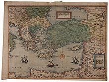 16th Century Map of the Mediterranean